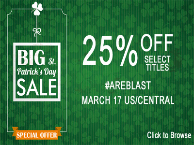 St. Patrick's Day Sale for Books