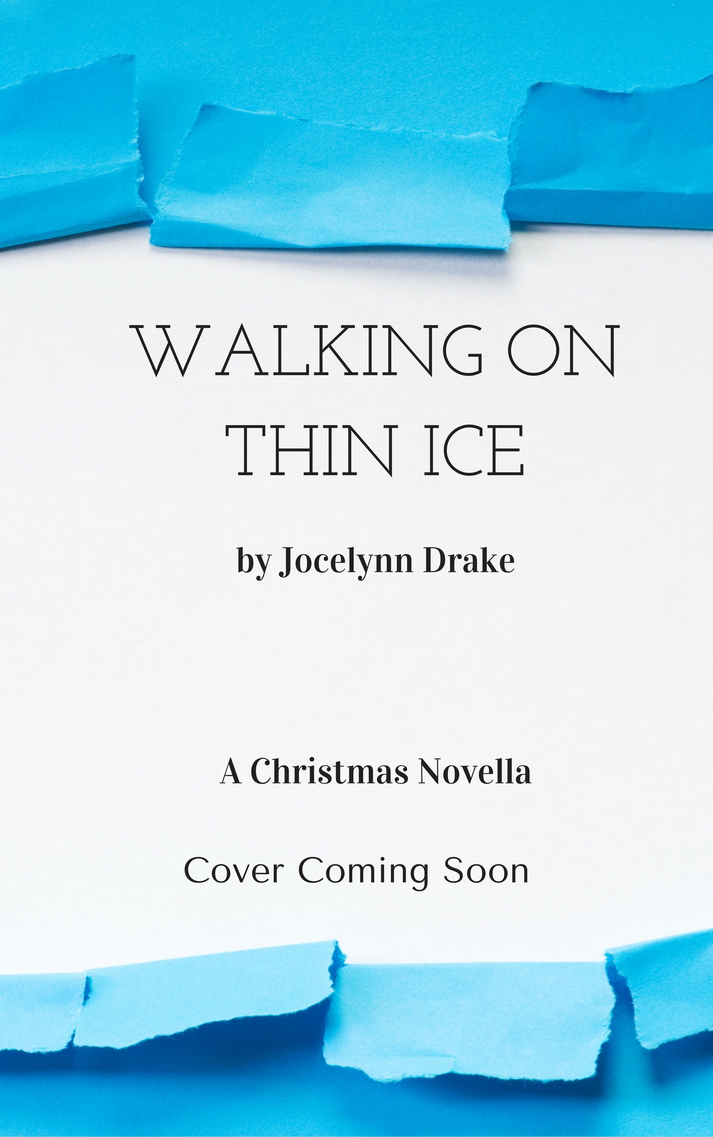 Cover Reveal: Walking on Thin Ice