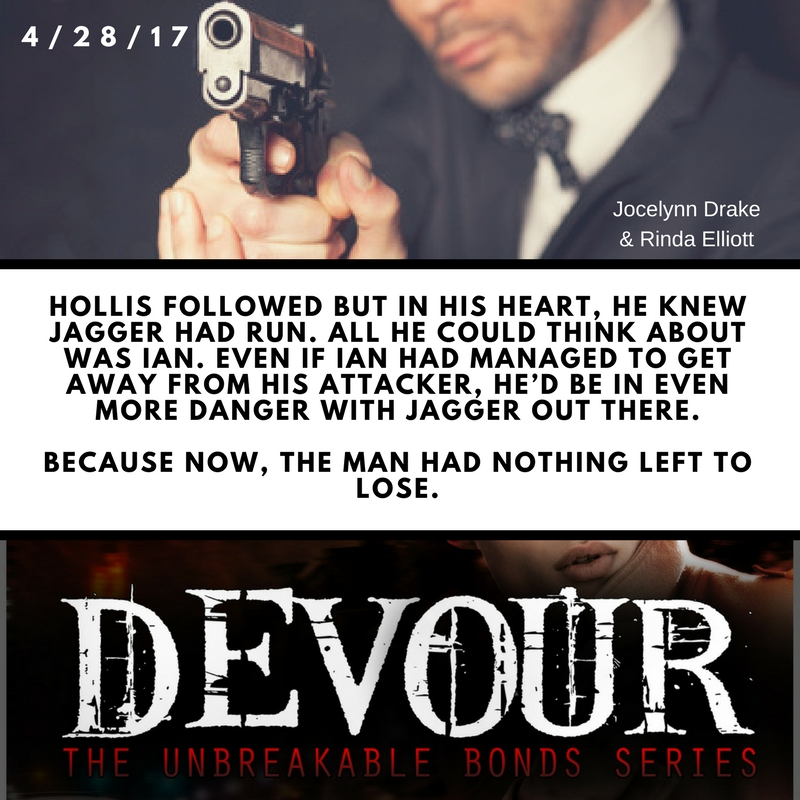 Devour is out…at long last!