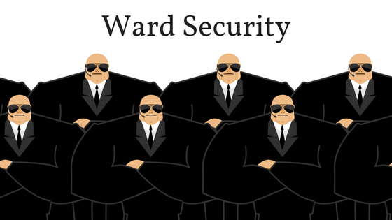 When You Need Help, Call Ward Security