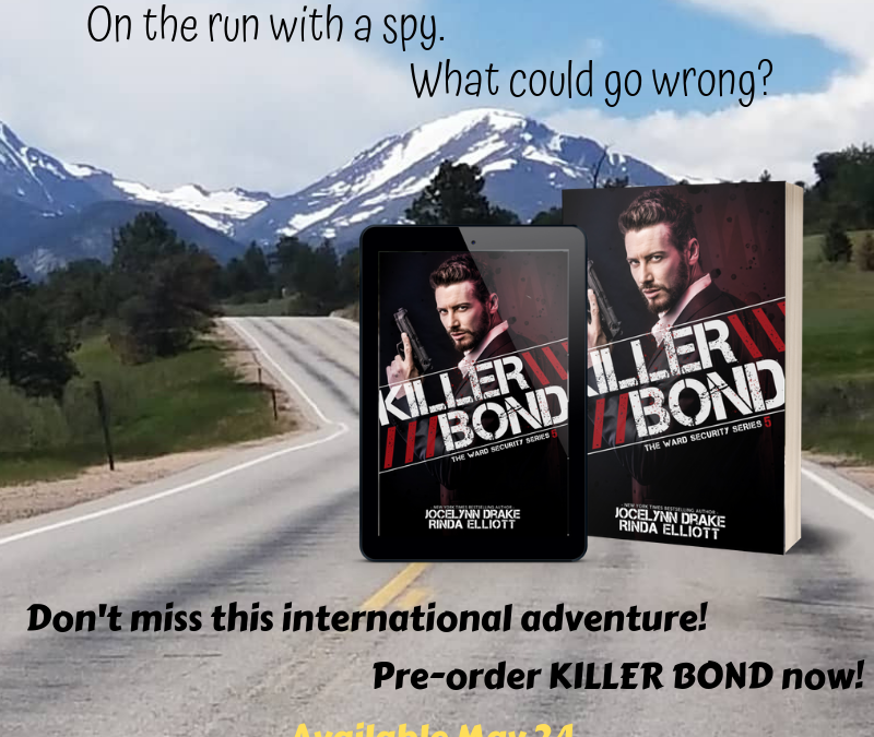 Killer Bond Is Out Today!